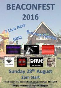 Poster Jonezy Beaconsfield 28 August